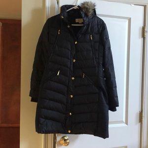 Michael Kors long winter jacket :with fur hood
